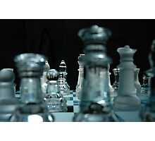 Check Mate Photographic Print