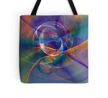 Light Drawn In Tote Bag
