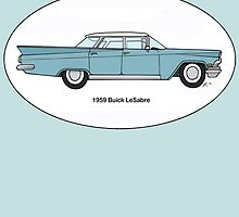 1959 Buick LeSabre custom colour by Sharon K