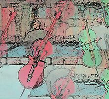 The  Heavenly Music of  Cello  Players   by Rick  Todaro