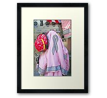 Pink Ribbon Tour Framed Print