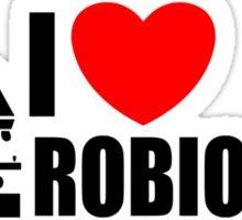 I LOVE MICROBIOLOGY Sticker
