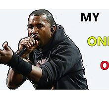 Kanye - Only One by MiddourDesign