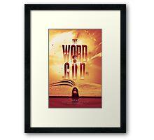 The Word of God Framed Print