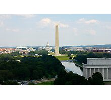 National Mall Photographic Print