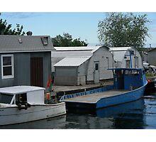 Superior boat Photographic Print