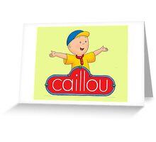 Caillou Swag Greeting Card
