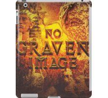 Commandment 2 - No Graven Image iPad Case/Skin
