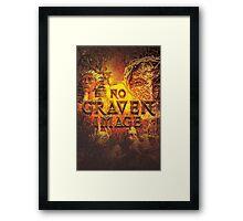Commandment 2 - No Graven Image Framed Print