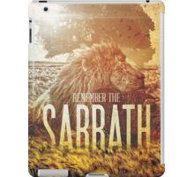 Commandment 4 - Remember The Sabbath iPad Case/Skin