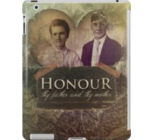 Commandment 5 - Honor Father and Mother iPad Case/Skin
