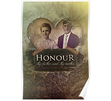 Commandment 5 - Honor Father and Mother Poster