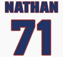 National football player Nathan Parks jersey 71 by imsport