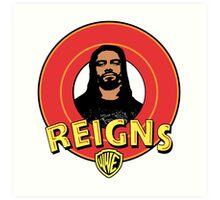 Looney Reigns (Logo) Art Print