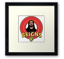 Looney Reigns (Logo) Framed Print
