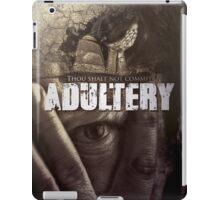 Commandment 7 - Adultery  iPad Case/Skin