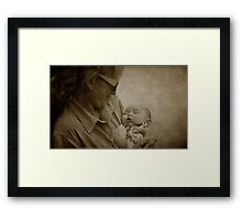 The Filling Of Our Hearts Framed Print