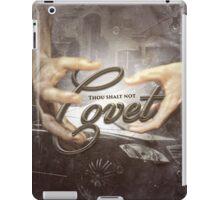 Commandment 10 - Thou Shalt Not Covet iPad Case/Skin