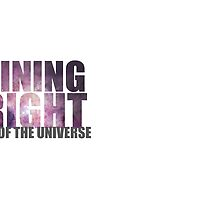 SHINING BRIGHT sentre of the universe by jazzydevil