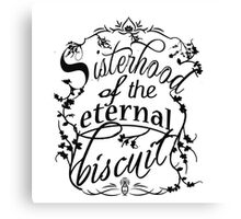 Sisterhood of the Eternal Biscuit Canvas Print