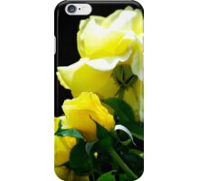 bright shining yellow roses iPhone Case/Skin