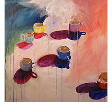Teacups Photographic Print