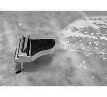 Piano Photographic Print
