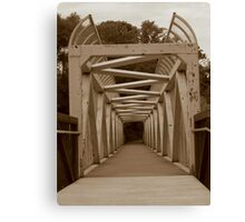 One Side to the Other. Canvas Print