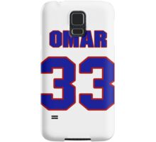 National football player Omar Easy jersey 33 Samsung Galaxy Case/Skin