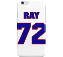 National football player Ray Collins jersey 72 iPhone Case/Skin
