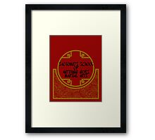 Anything Goes Martial Arts Framed Print