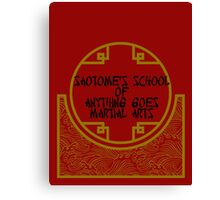 Anything Goes Martial Arts Canvas Print