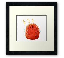 Pom Pom Pom : hot Popo Framed Print