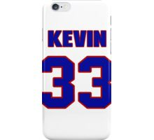 National football player Kevin Long jersey 33 iPhone Case/Skin