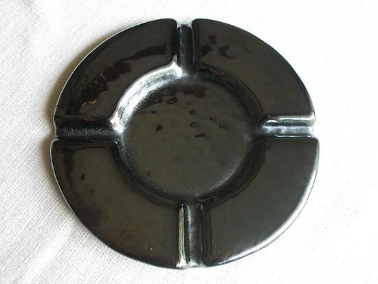 Gunmetal Ashtray by Kaz Rhoads