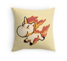 Rapidash! Throw Pillow