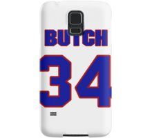 National football player Butch Avinger jersey 34 Samsung Galaxy Case/Skin