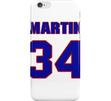 National football player Martin Bayless jersey 34 iPhone Case/Skin