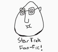 Star Trek Fan-fic by chinfacedesigns