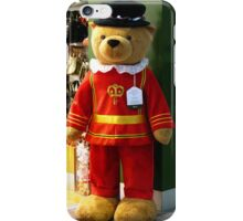 Harrods 6ft Beafeater Bear iPhone Case/Skin