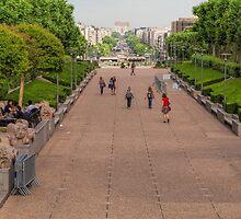 La Defense, Paris, France #8 by Elaine Teague