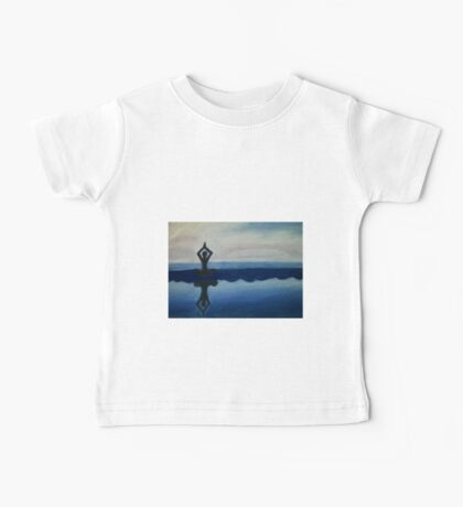 Pastel Landscape drawing Baby Tee