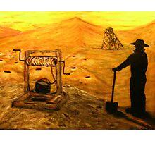 Australiana    Prospector Dreaming  EJCairns Original Sold  Photographic Print