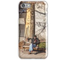 Lonely Man iPhone Case/Skin