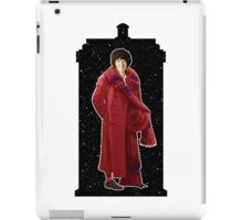 Fourth Doctor and The TARDIS iPad Case/Skin