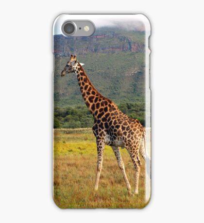 Giraffe, Entabeni Lodge, South Africa iPhone Case/Skin