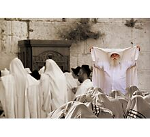 Priestly Blessing Photographic Print