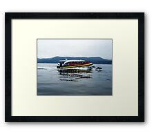 Eco Adventure Cruise - Bruny Island Framed Print