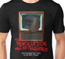 Revolution Will Be Televised Unisex T-Shirt
