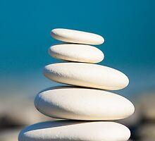Rock stack by Johan Larson